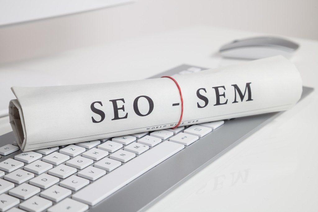 SEO and SEM concept